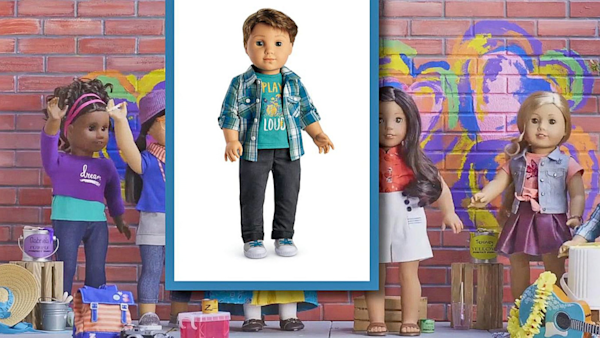 Good Morning America Girl With Acne : American girl announces the release of its first male doll
