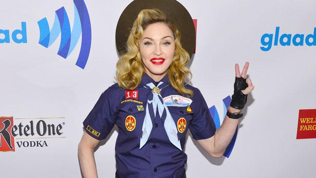 Madonna Criticizes Boy Scouts at GLAAD Awards