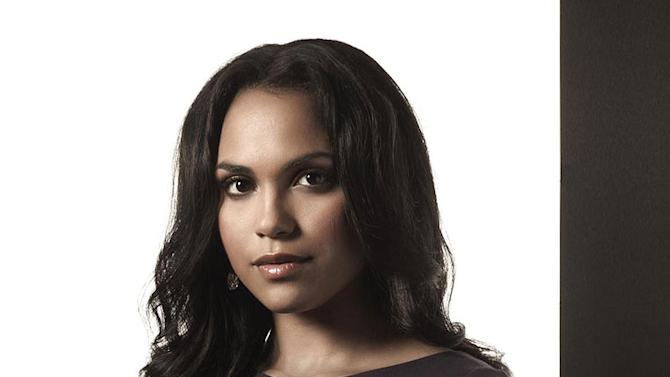 """Monica Raymund in the FOX series """"Lie to Me"""""""