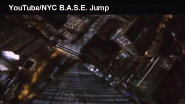 BASE Jumpers Leap Off 1 World Trade Center