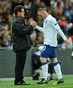 Fabio Capello (left) has joked that Wayne Rooney (right) can only understand the Scottish accent of Sir Alex Ferguson