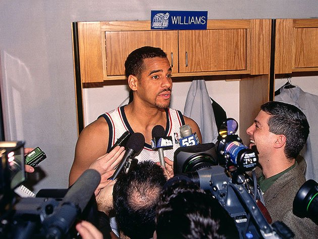 Jayson Williams, in 1998. (Getty Images)