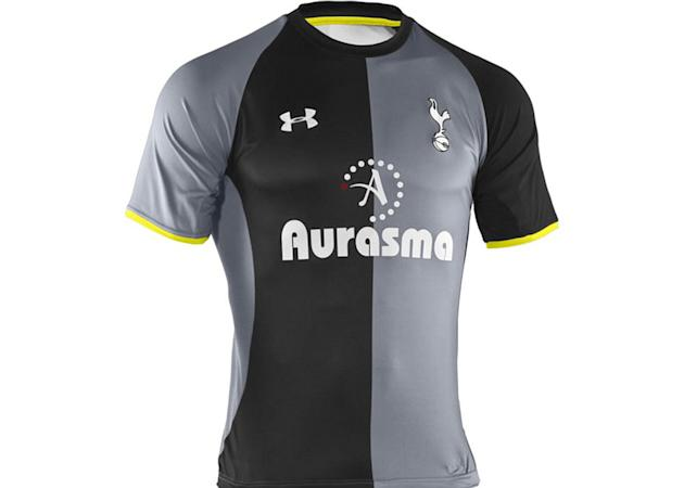 Spurs launch new kit in video game