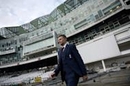 England's newly-announced cricket Test captain Joe Root poses for photographers ahead of a news conference at Headingly stadium in Leeds, north-east England, on February 15, 2017