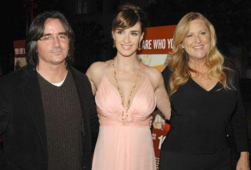 Brad Silberling , director, Paz Vega , and Lori McCreary , producer at the Los Angeles premiere of THINKFilm's 10 Items or Less