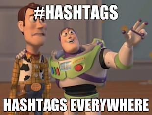Inbound Marketing Tips: Twitter 101, How to Use Hashtags image hashtags everywhere