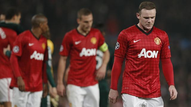 Champions League - Alarm bells ring for dropped Rooney