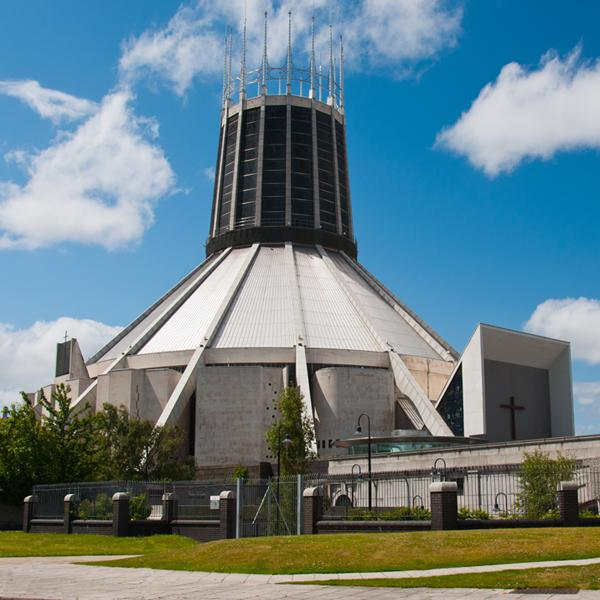 La Metropolitan Cathedral Church of Christ the King di Liverpool