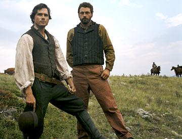 Matthew Settle and Skeet Ulrich TNT's Into the West