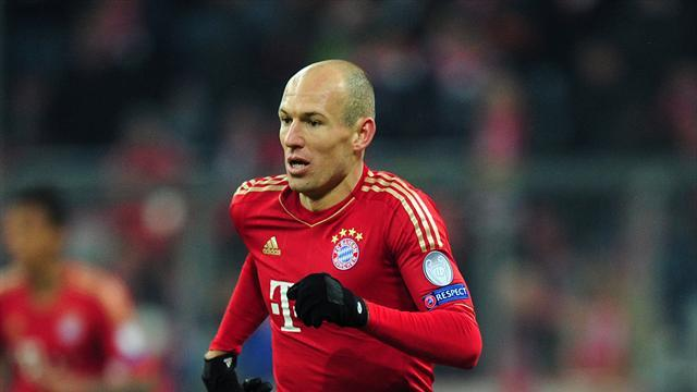 Champions League - Robben satisfied with quarter-final home win