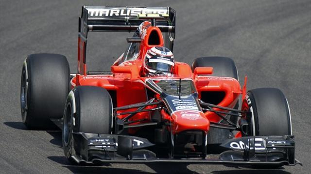 Formula 1 - Ellinas to straightline test with Marussia