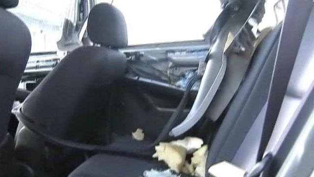 Bear Gets Trapped Inside Car, Totals It