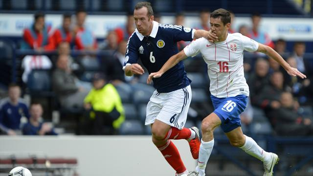 Scotland held by Serbia in Glasgow