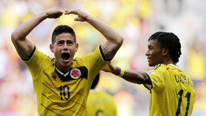 Colombia no longer mourning absence of Falcao