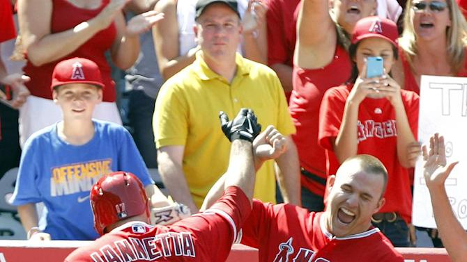 Iannetta's HR in 8th lifts Angels over Royals