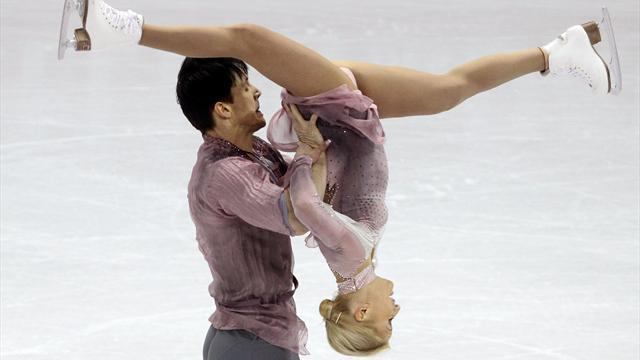 Figure Skating - Russia's Volosozhar, Trankov take gold at worlds
