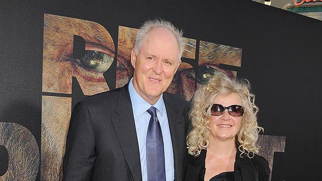 Rise of the Planet of the Apes 2011 LA Premiere John Lithgow Mary Yeager