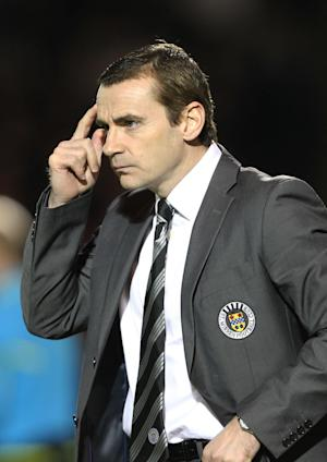 Danny Lennon is desperate for cup success at St Mirren