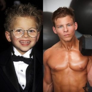Jonathan Lipnicki is all grown up!