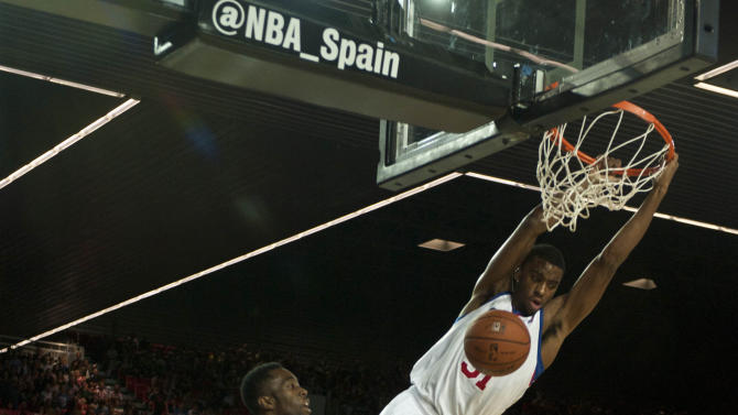 Spain NBA Global Game Basketball