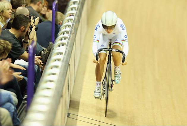 UCI Track Cycling World Cup - Glasgow: Day Two