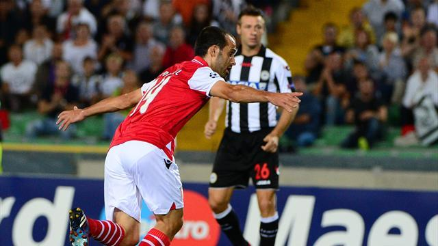 Udinese miss out after penalty blunder