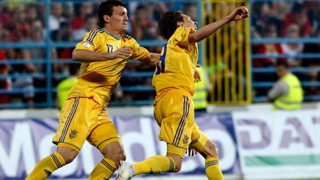 World Cup - Ukraine hammer Montenegro to give England boost