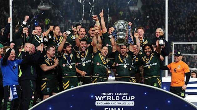 Rugby League World Cup holders Australia will hope to celebrating on home soil in 2017