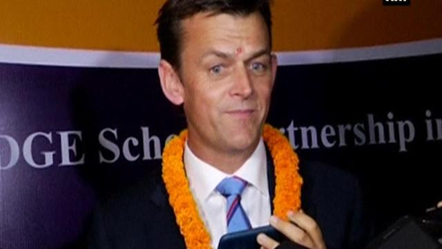 Adam Gilchrist launches education exchange programme in India
