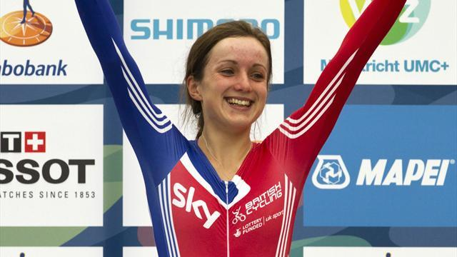 Cycling - Barker 17th after three omnium events in Mexico