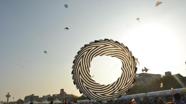 International Kite Festival 2012, Ahmedabad