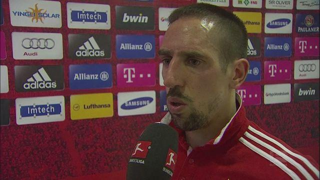 Ribery proud of Bayern's 50 unbeaten games