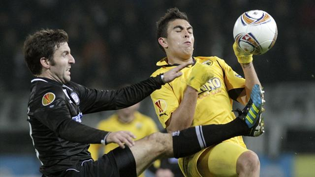World Football - AEK Athens criticise referee after defeat
