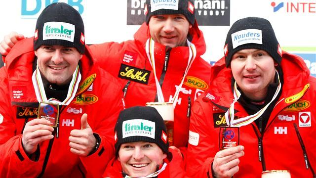 Austria double-up for luge wins