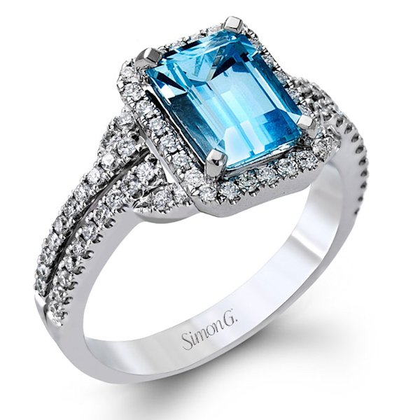 error With wedding rings with colored stones