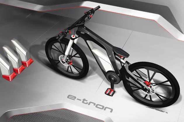 audi e bike e bike for sports and trick cycling. Black Bedroom Furniture Sets. Home Design Ideas