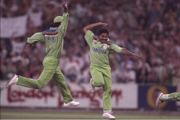 WORLD CUP 1992 MUSHTAQ