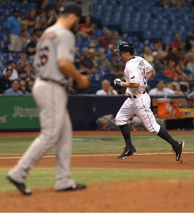 Rays stymied by Anderson, Indians 7-1