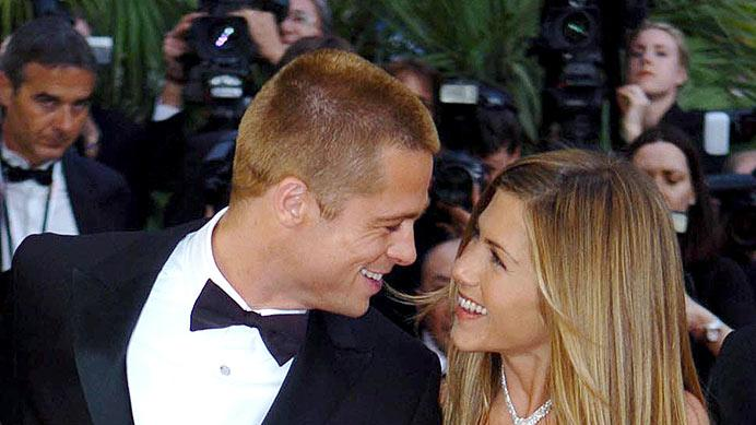 Pitt aniston Cannes