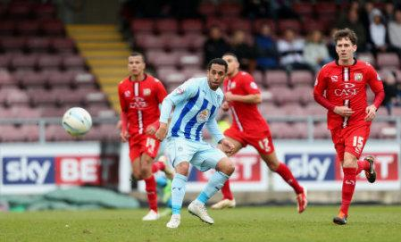 Soccer - Sky Bet League One - Coventry City v Milton Keynes Dons - Sixfields Stadium