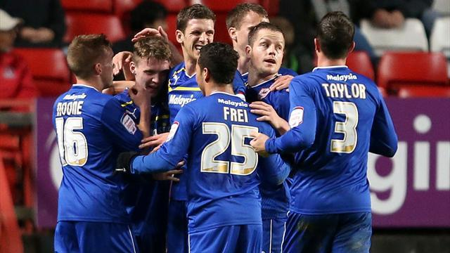 Championship - Cardiff go top as Palace streak ends
