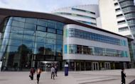 """A general view of the Queen Elizabeth Hospital in Birmingham. A 14-year-old Pakistani girl who was shot in the head by the Taliban could make a """"good recovery"""", doctors treating her in the hospital said"""