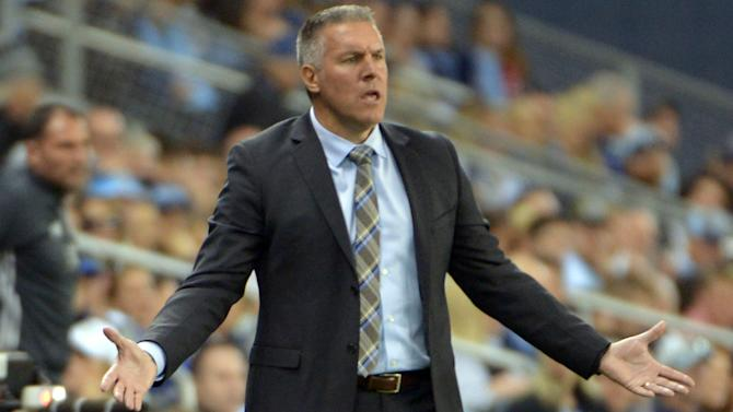 Sporting KC coach Peter Vermes blasts referee after loss to Union