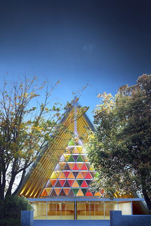 Design For Christchurh 'Cardboard Cathedral' Unveiled