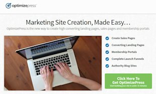 The Best WordPress Landing Page Plugins image Optimizepress landing page plugin