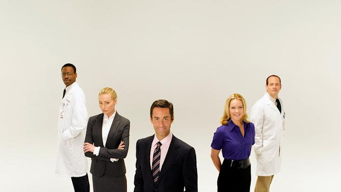 The cast of Better Off Ted.