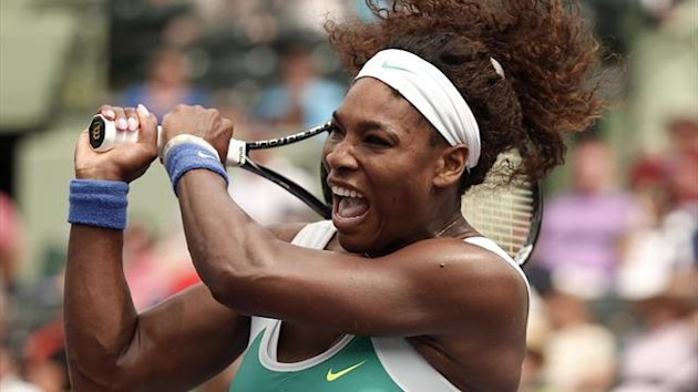 Serena Williams of the U.S. (Reuters)