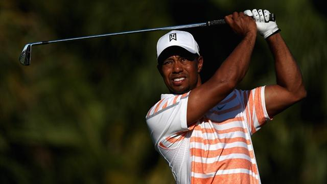 Golf - Woods finally gets the feeling at Doral