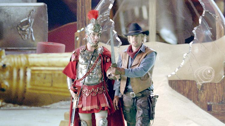 Night at the Museum: Battle of the Smithsonian Production Photos 2009 Twentieth Century Fox Owen Wilson Steve Coogan