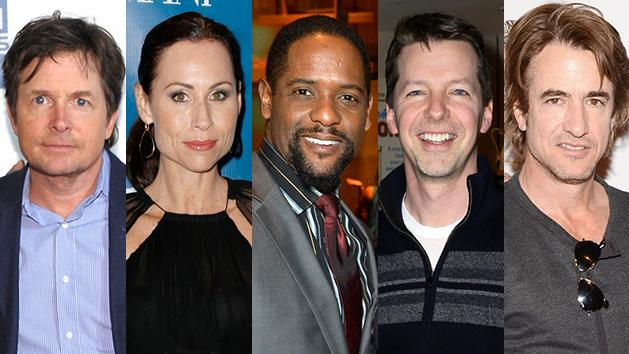 Michael J. Fox, Minnie Driver, Blair Underwood, Sean Hayes, and Dermot Mulroney